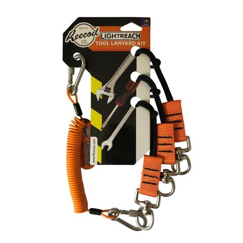 Reecoil LIGHT-REACH TOOL LANYARD KIT