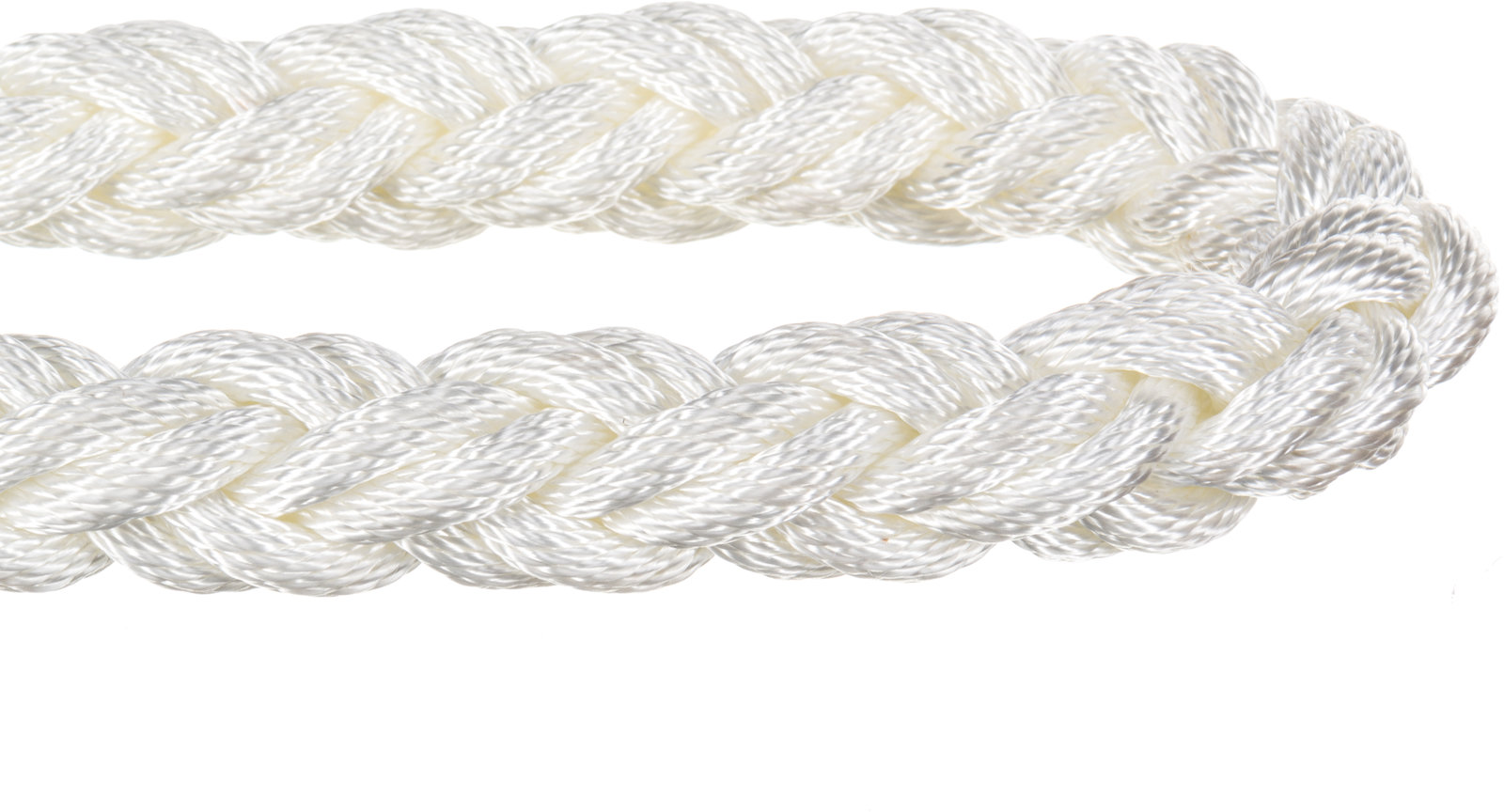 Nylon 8 Strand Plaited