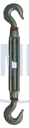 Forged Turnbuckles With Locknuts
