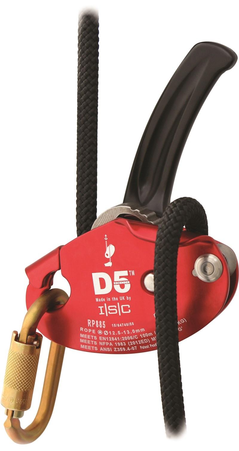 ISC D5 Work/Rescue Descender