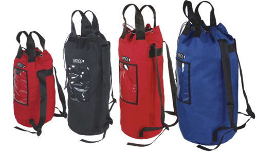 Yates Bucket Style Rope Bags w/ Straps