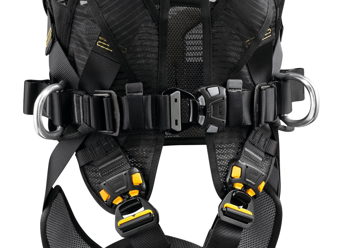 Petzl VOLT Fall Arrest//Work Positioning 5 Point Harness C72AFA Size 1