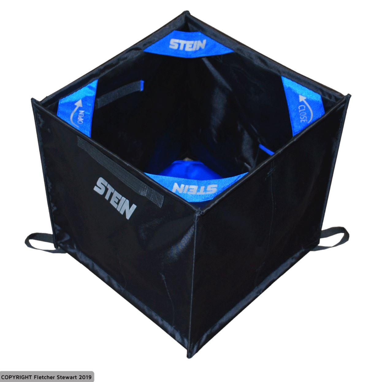 Stein Folding Cube for Throwline Storage