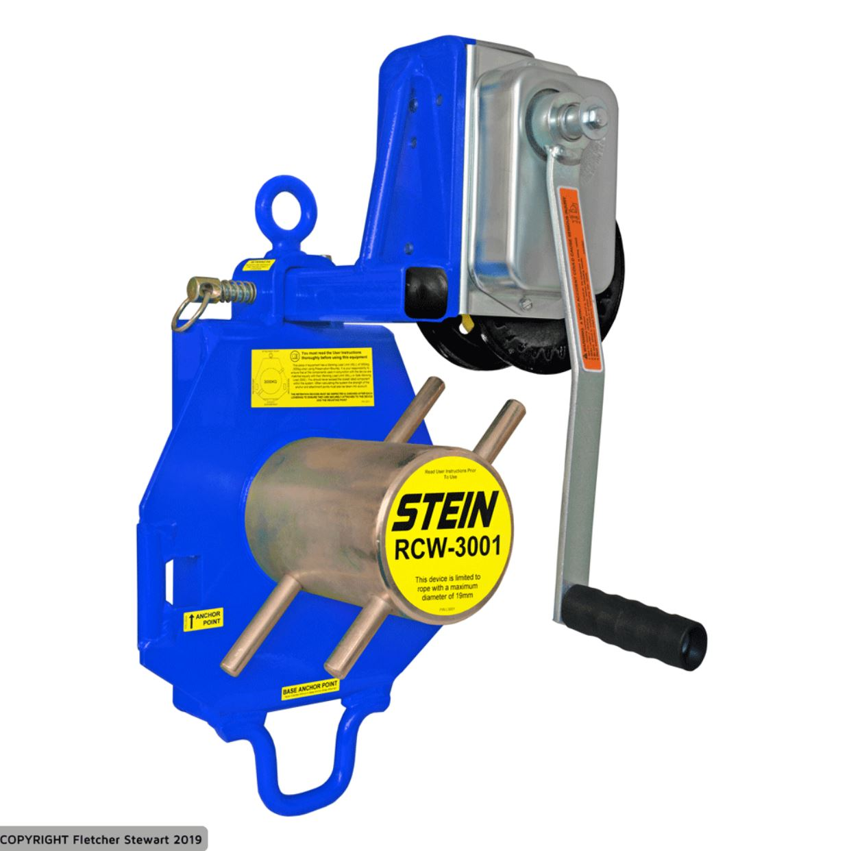 Stein RCW3001 Lowering Device with Winch Combo Kit