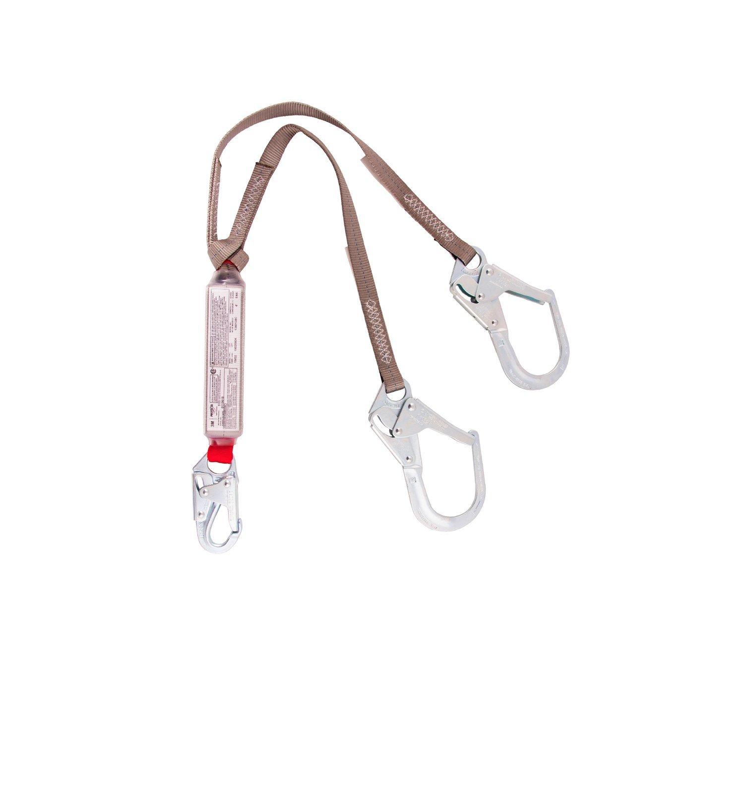 Protecta Y-lanyard w/ Scaffolding Hook, E4 / E6 Combo Absorber