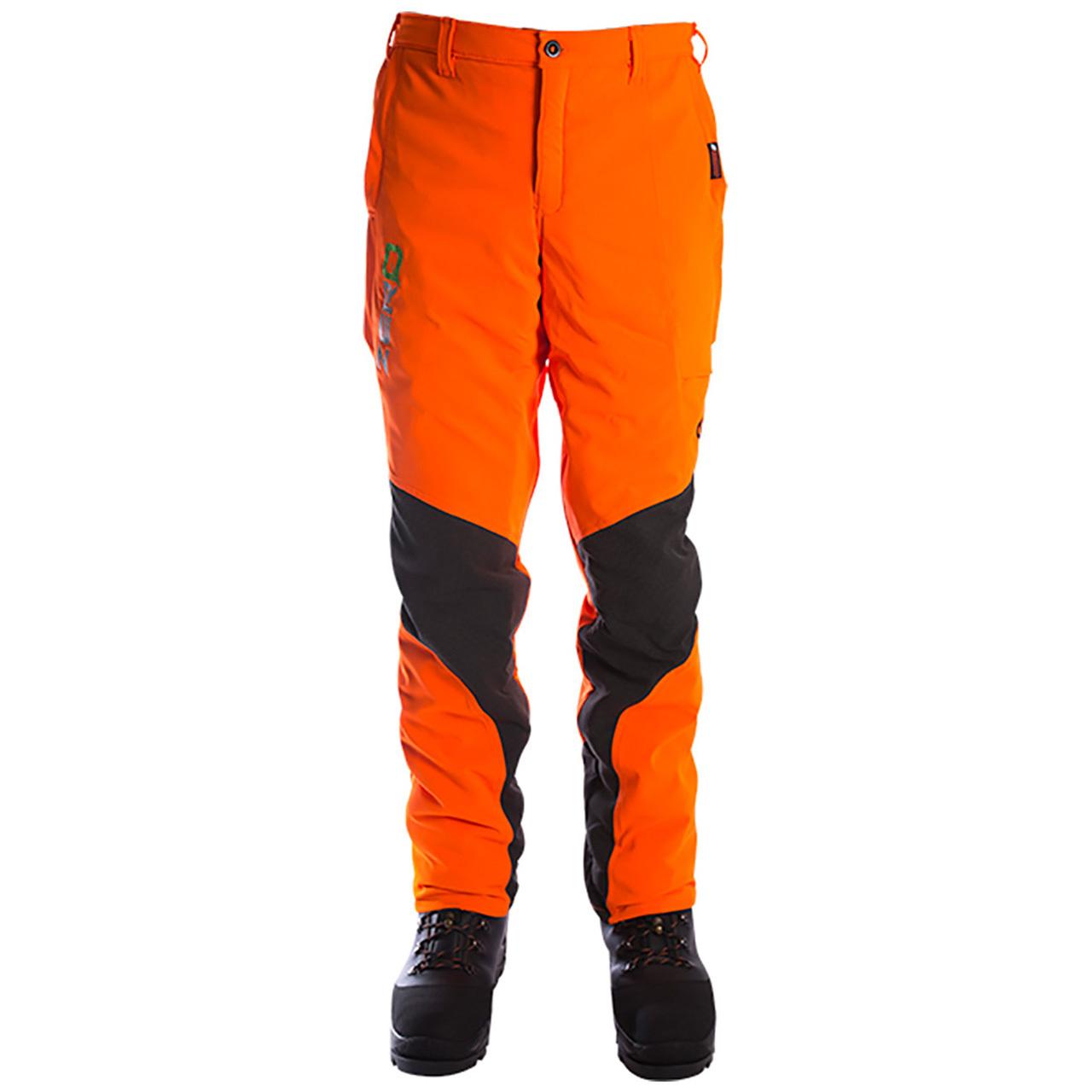Clogger Zero Gen2 Light & Cool Men's Chainsaw Pants - Hi Vis Orange