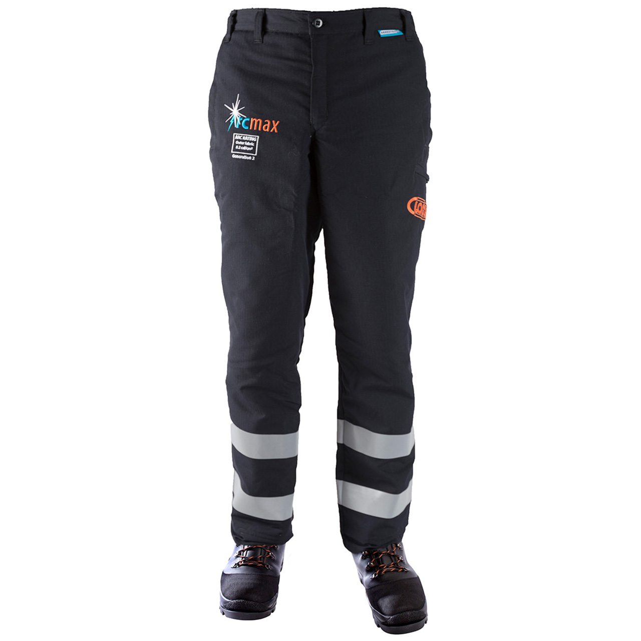 Clogger Arcmax Arc Rated Fire Resistant Men's Chainsaw Pants