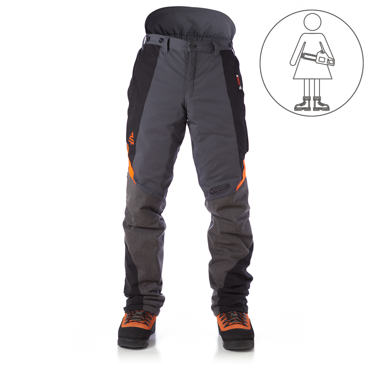 Clogger Ascend All Season Women's Chainsaw Pants