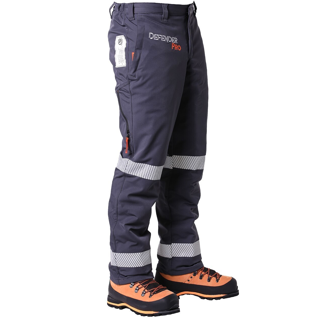 Clogger DefenderPRO Tough Chainsaw Pants Now With Vents and Reflective Hoops