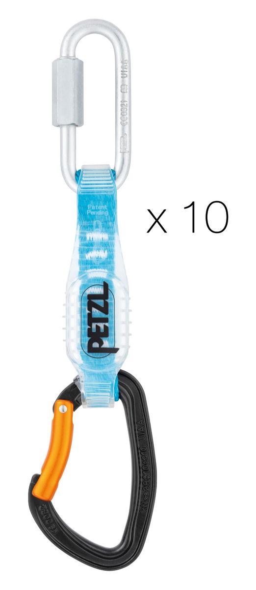 Petzl DJINN STEEL AXESS (Pack of 10)
