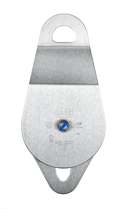 "SMC 4"" SMC/ RA Double Stainless Steel Pulley (Ball Bearing)"