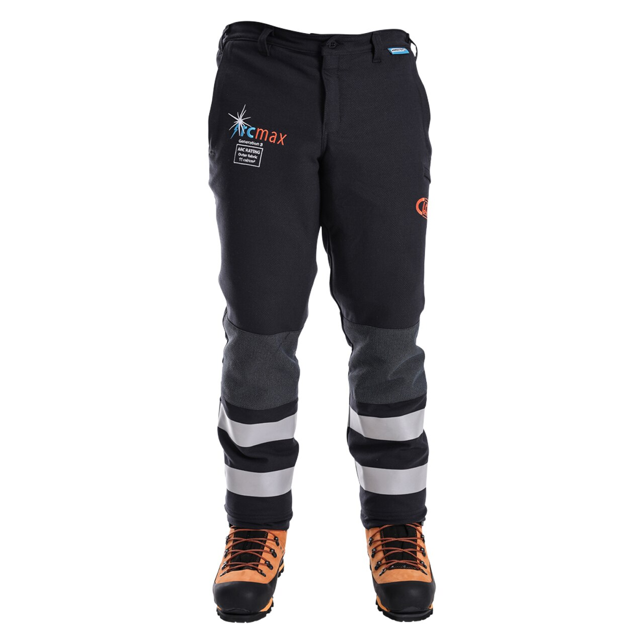 Clogger Arcmax Gen3 Arc Rated Fire Resistant Men's Premium 360 Wrap Chainsaw Pants (Now With Stretch)