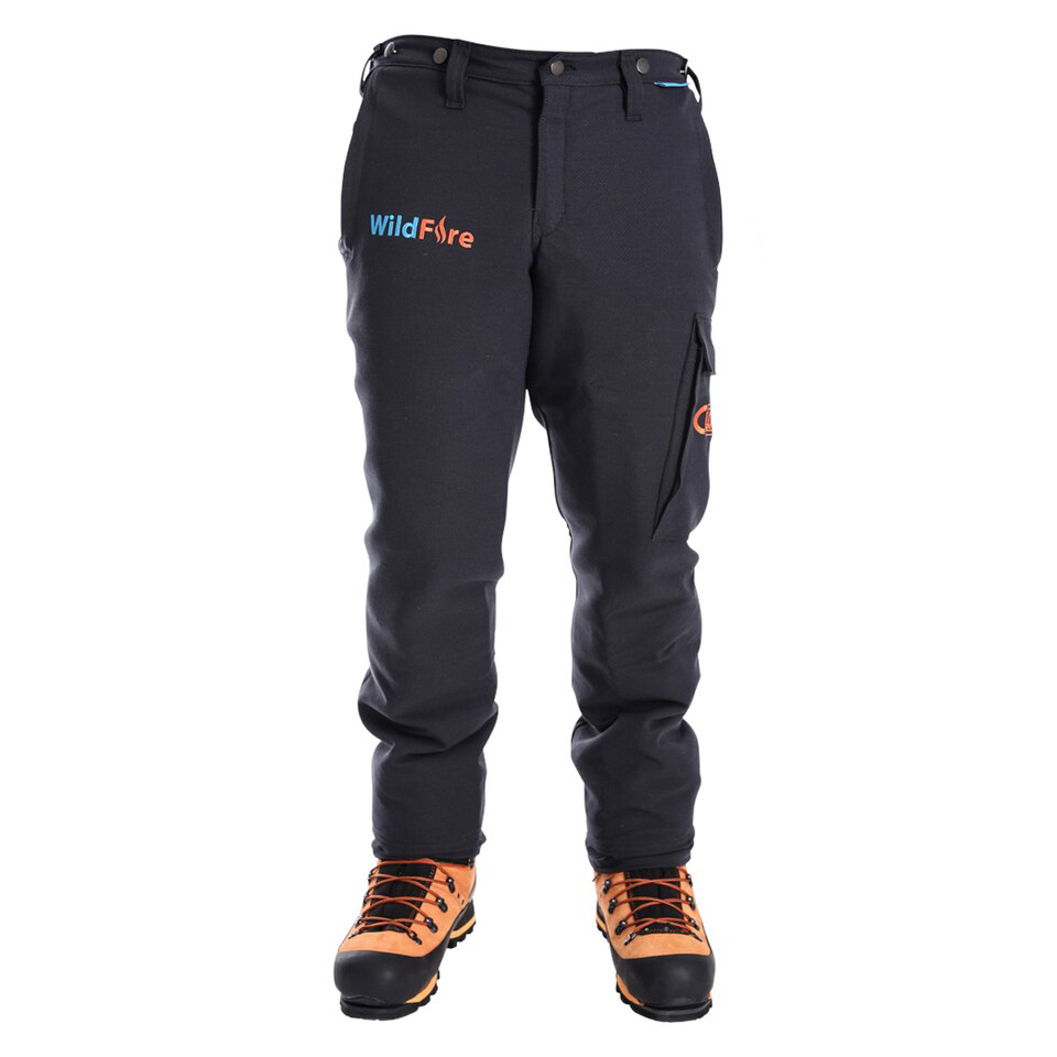 Clogger Wildfire Arc Rated Fire Resistant Men's Chainsaw Pants Now With Stretch
