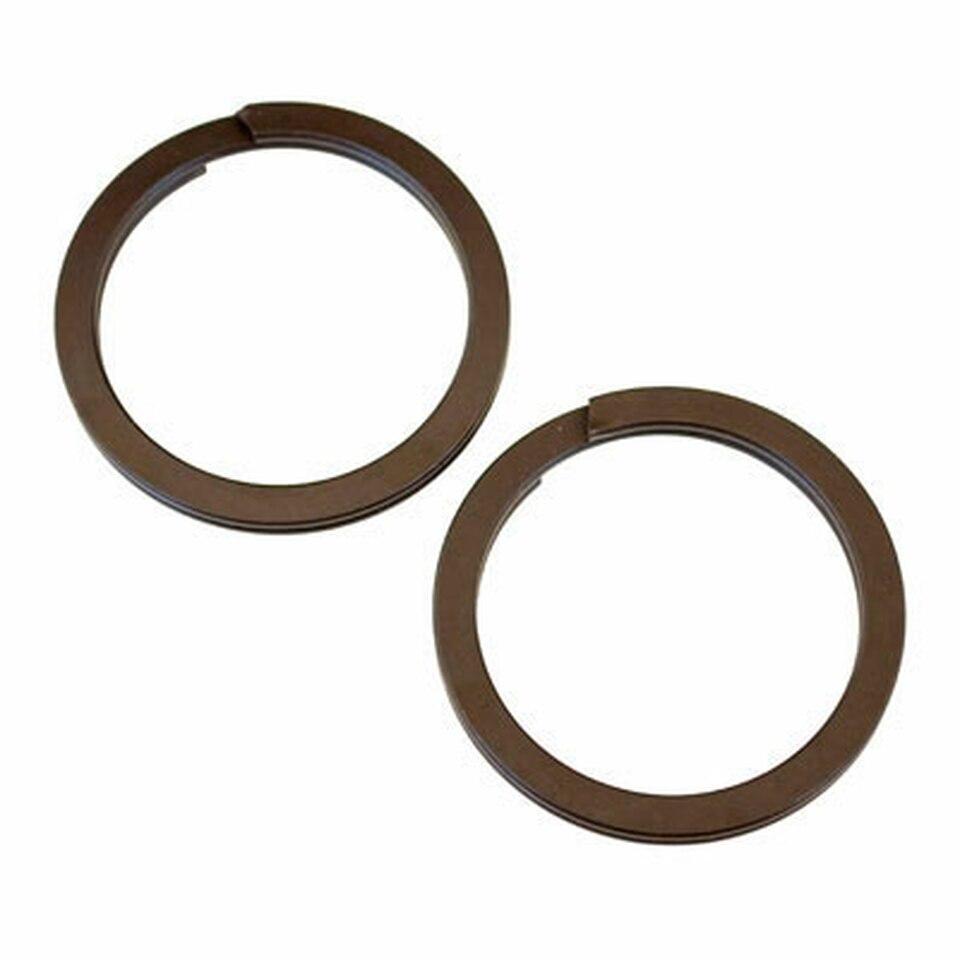 Buckingham Replacement Split Rings for Straps (Pair)