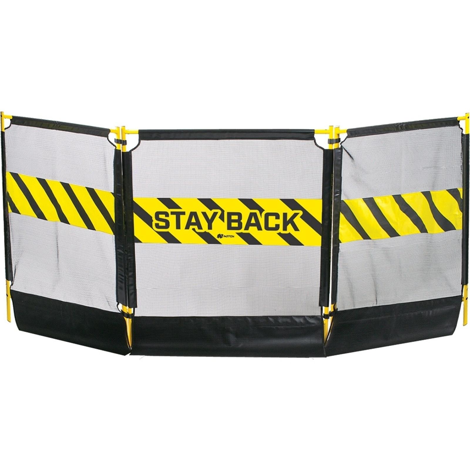 Notch Tri-Guard Debris Containment Barrier