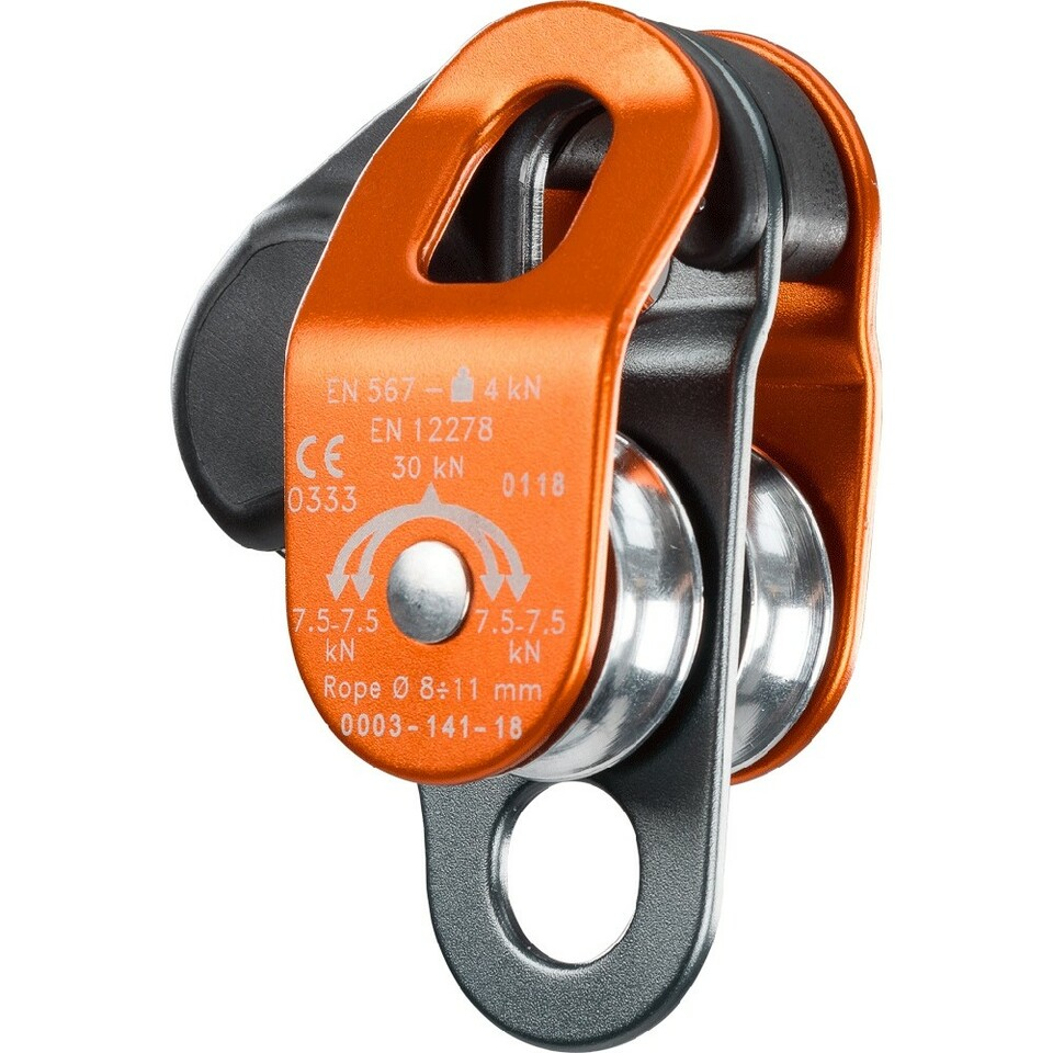 Climbing Technology Up Lock Double Pulley
