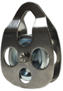 """CMI Cable-Able Pulley - Rope Capacity: 5/8"""""""