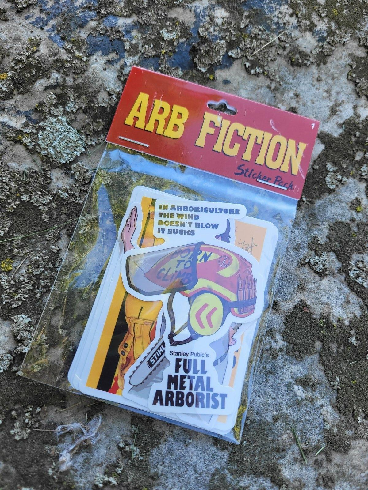 Arbfiction Sticker Pack